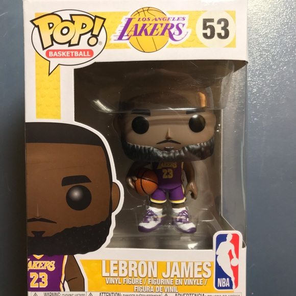 24002caf04e Lebron James funko Pop (fanatics exclusive). NWT. NBA